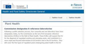 Εργαστήρια Αναφοράς της Ευρωπαϊκής Ένωσης (EURL)