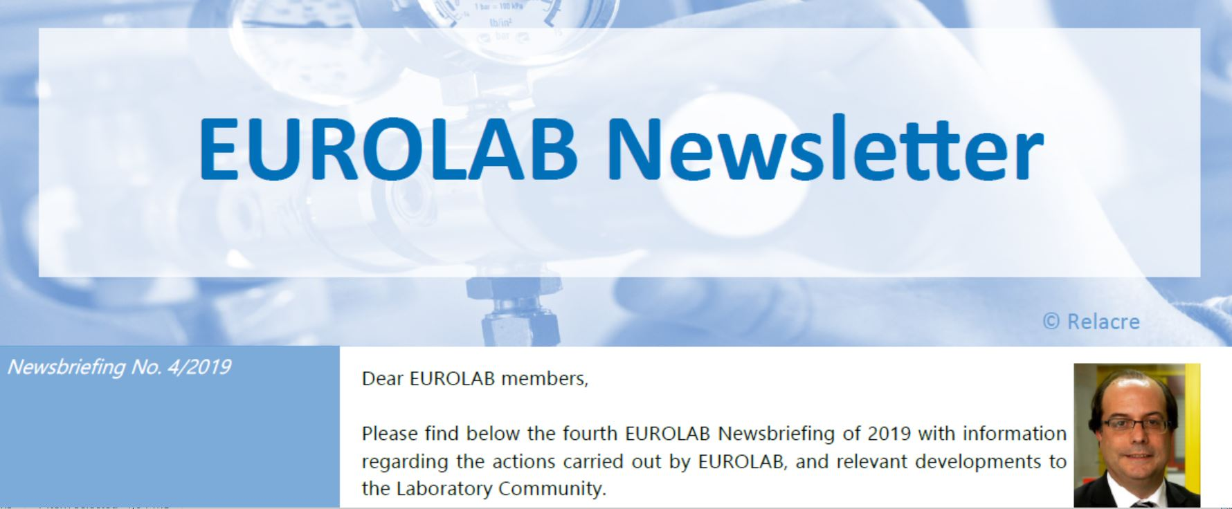 Newsletter no.4/2019 – EUROLAB
