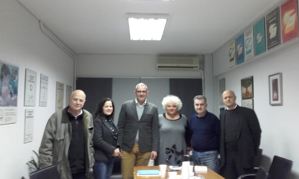 30-11-2016: Συνάντηση εργασίας με τη διοίκηση της Ενωσης Ελλήνων Χημικών