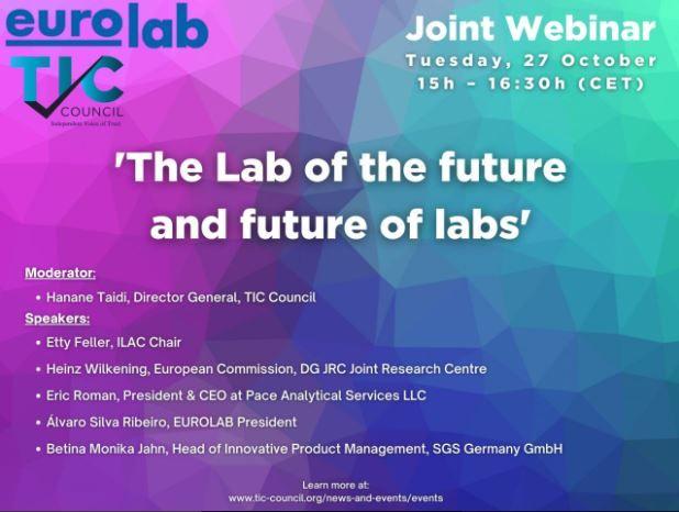 Webinar: Το εργαστήριο του μέλλοντος και το μέλλον των εργαστηρίων